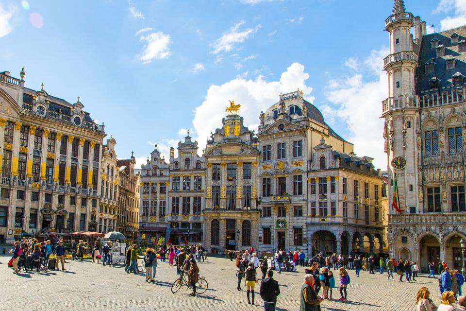 The main square of Brussels