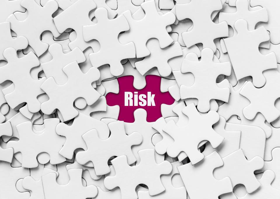 Risk, Puzzle concept.