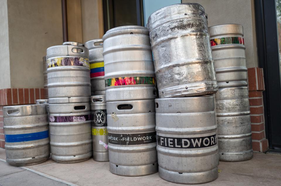 Craft Brew Beer Kegs