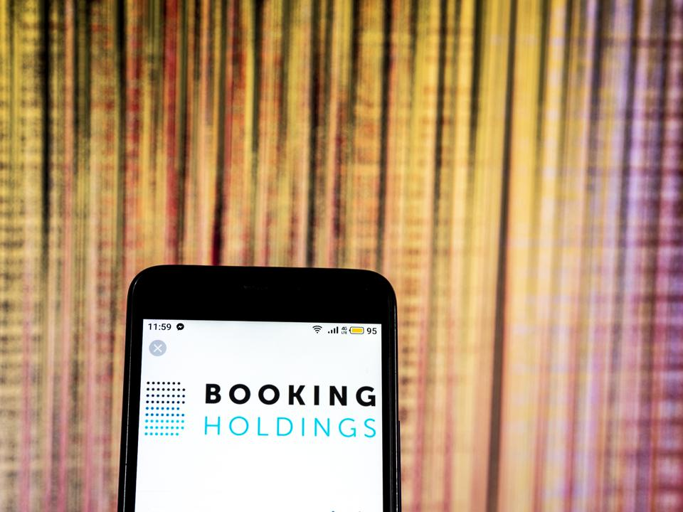Booking Holdings Engineering company  logo seen displayed on