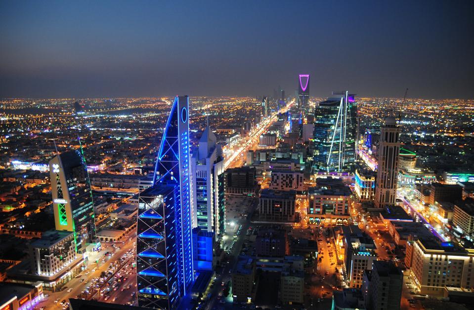 Vista de la ciudad de Riad