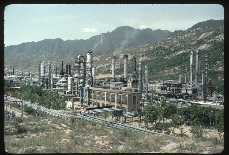 Oil Refinery Near Beijing
