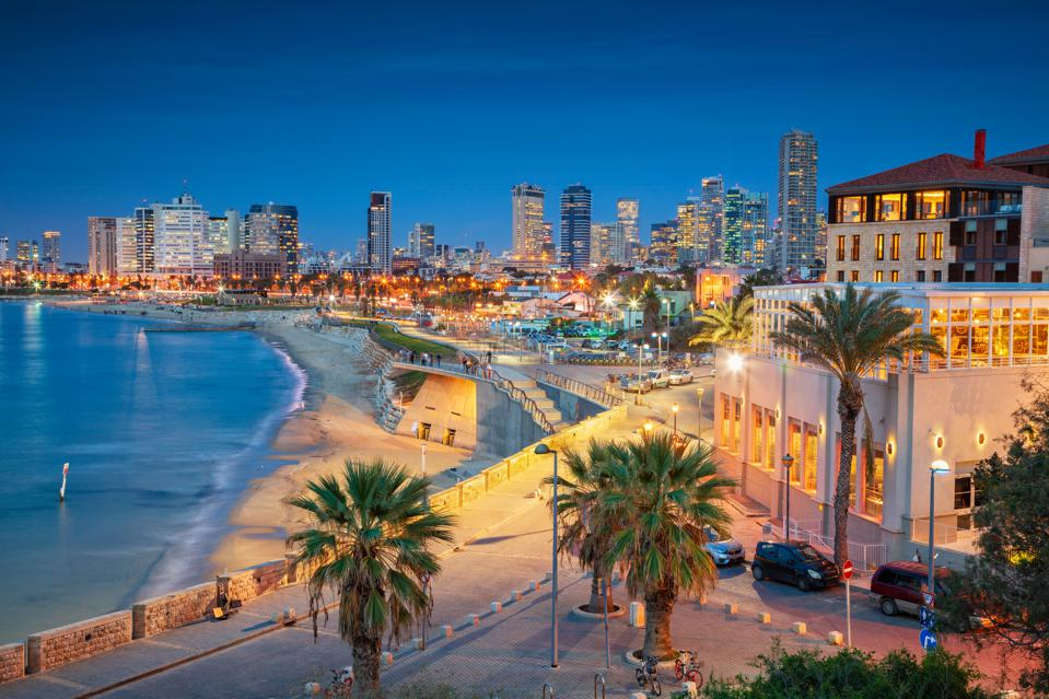 Tel Aviv Skyline. It's one of the best places to visit.