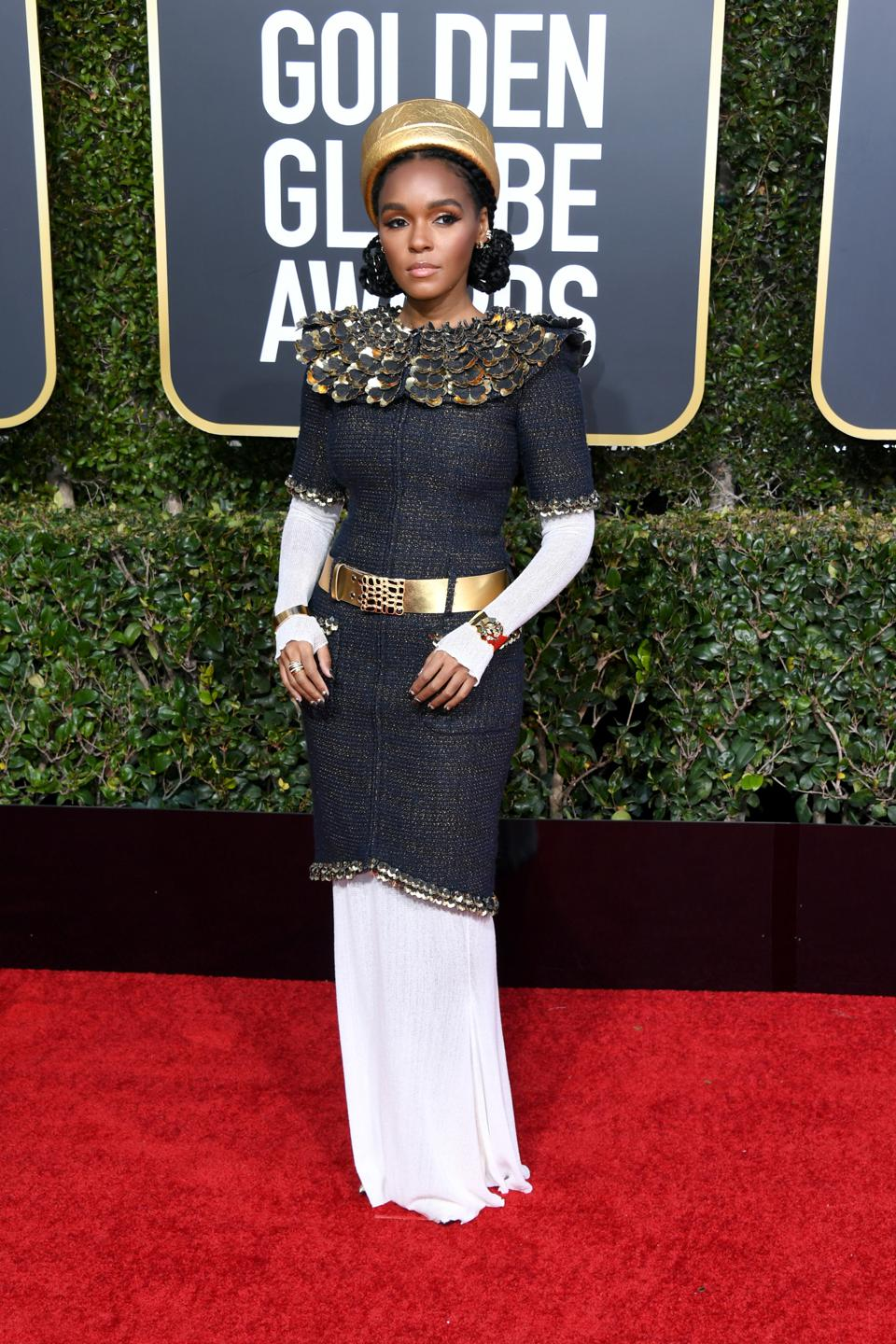 Janelle Monáe hits a high note in Chanel.