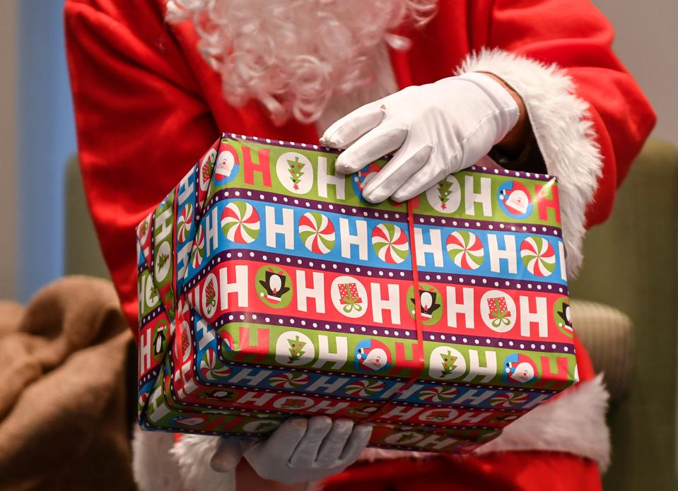 Gift wrapping and holiday sales and NRF