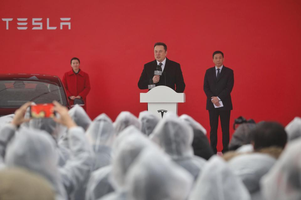 CHINA-US-AUTO-TESLA-TRADE