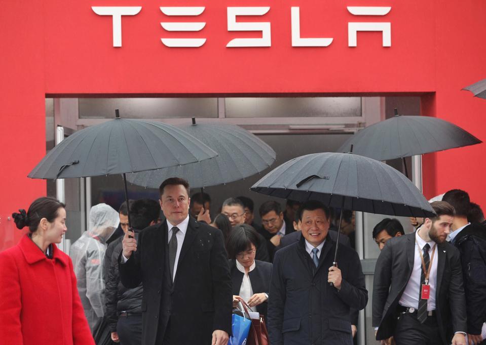 CHINA-US-AUTO-TESLA-TRADE