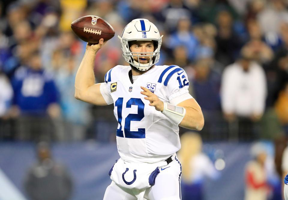 NFL Odds React To Luck's Retirement: Colts No Longer Favored To Reach Playoffs