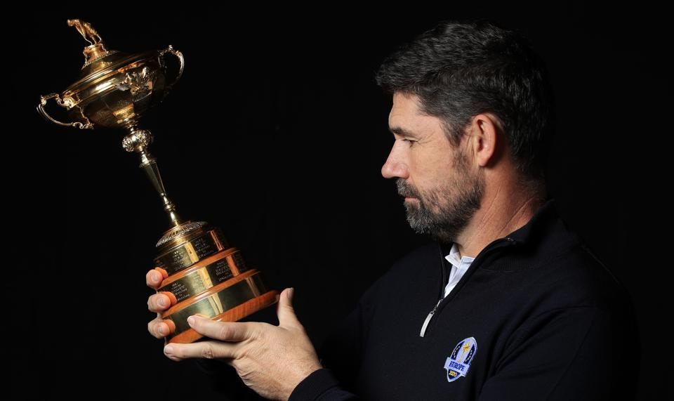 European Ryder Cup Captain Photo Session