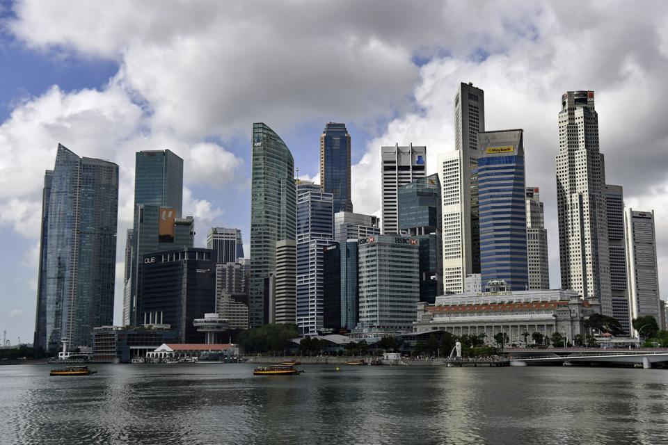 SINGAPORE-ECONOMY-ARCHITECTURE