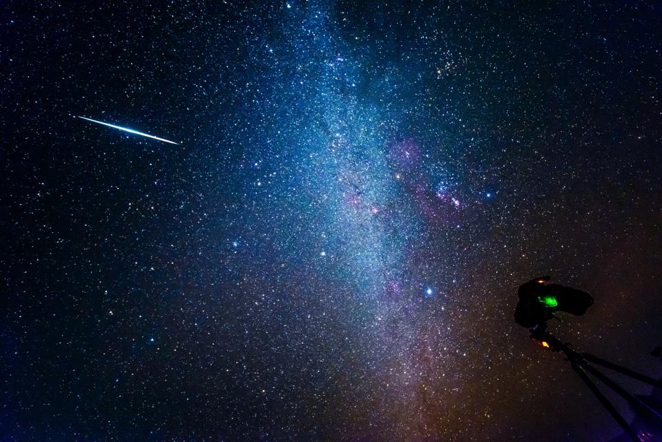 Gemini Meteor Shower In China