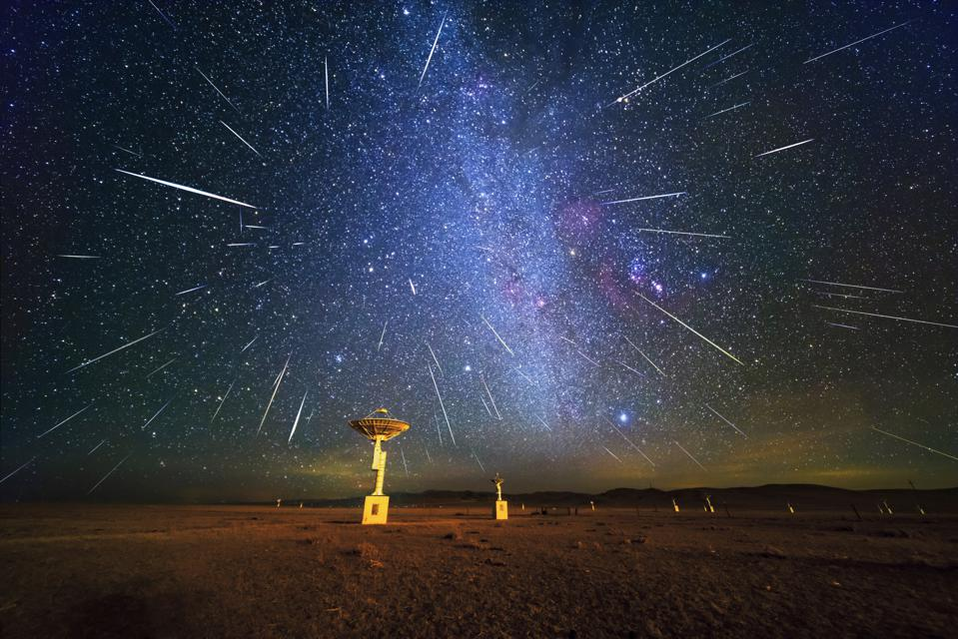Gemini Meteor Shower In China
