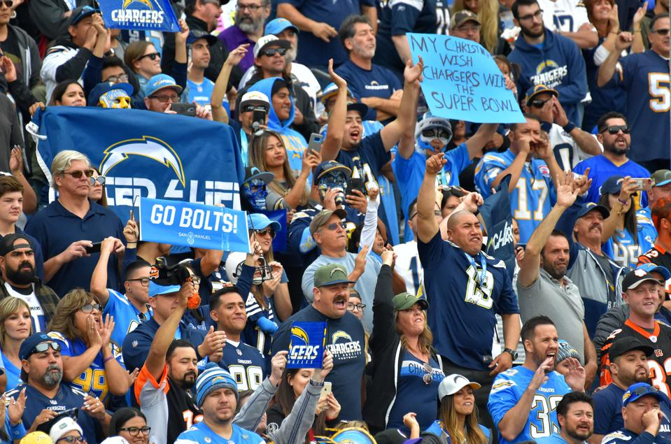 Cincinnati Bengals vs Los Angeles Chargers