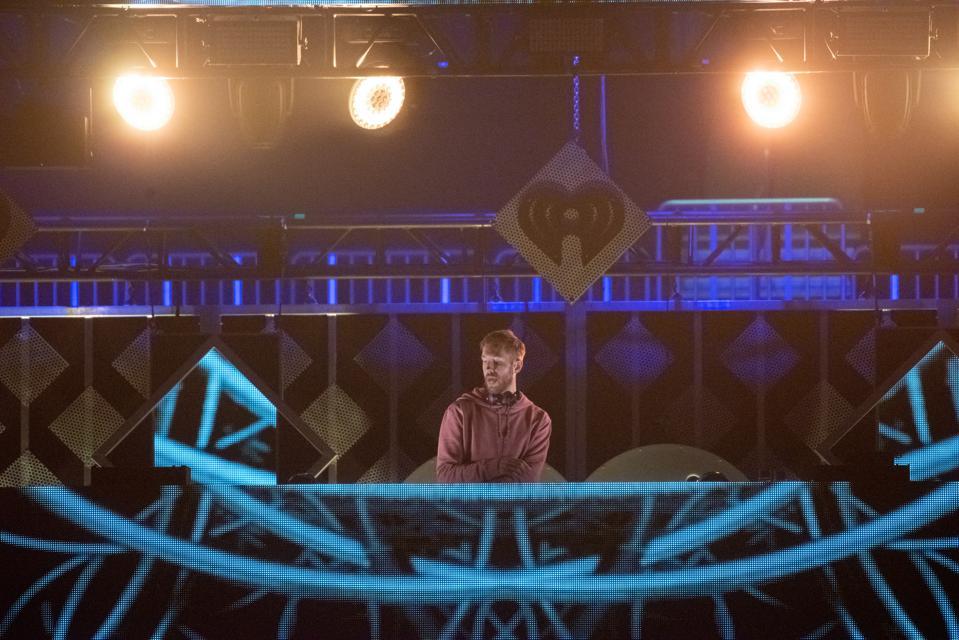 DJ and producer Calvin Harris