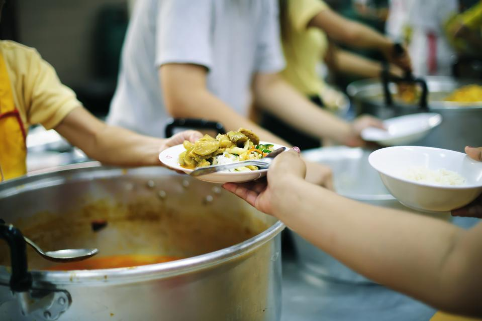 The Hope of the Poor by Donating Charity Food to the Immaculate : The Concept of Mindfulness