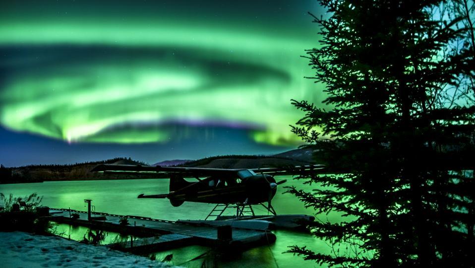 yukon canada aurora