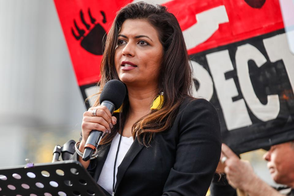Mona Shaikh Speaks at the Women's March San Francisco 2019