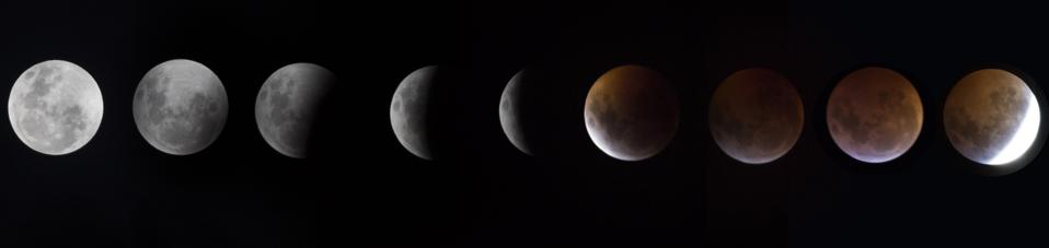 Total Lunar Eclipse Gives January A Blood Moon