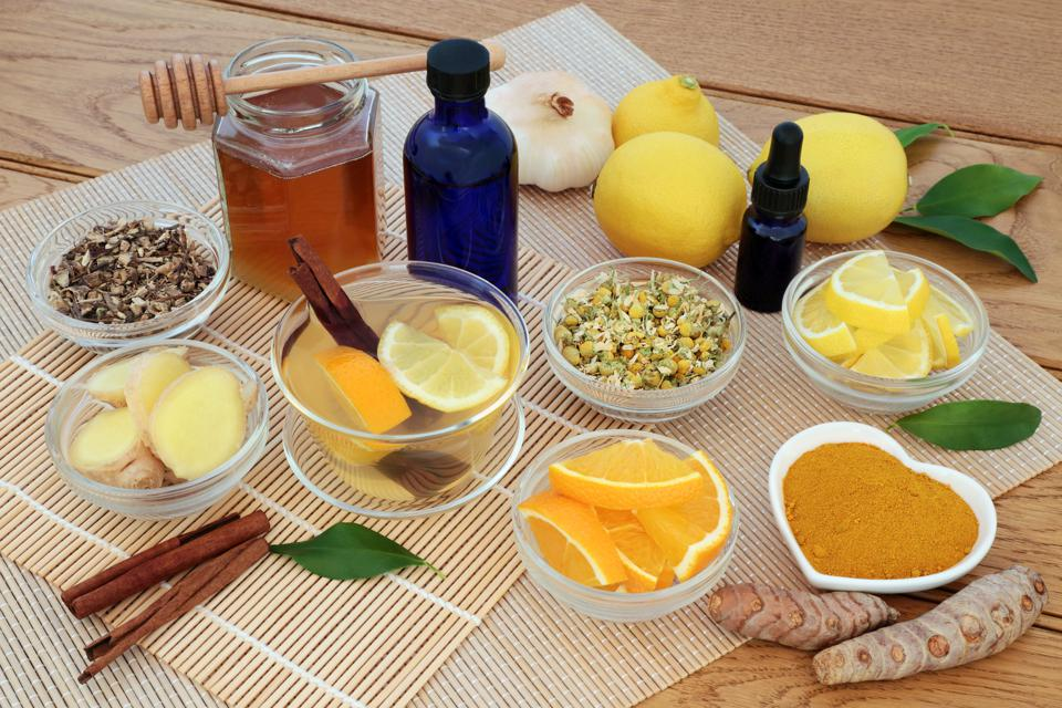 Herbal Medicine for Flu and Cold Remedy