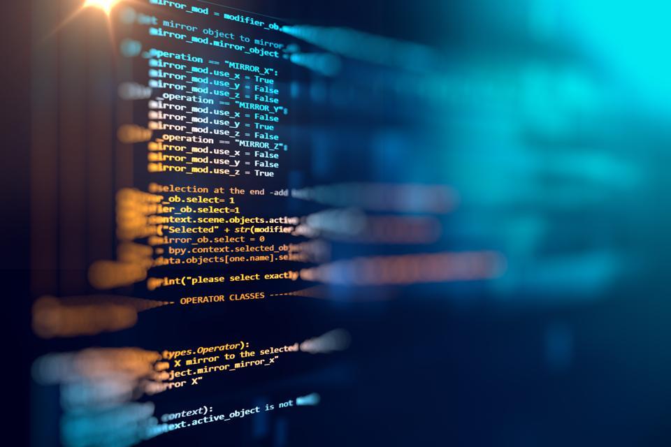 Software computer script.