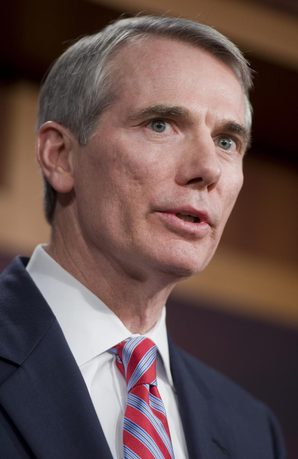 Sen. Rob Portman, R-Ohio, helps explain why many Americans don't get to decide if they want to collect $600 FPUC benefit or return to work