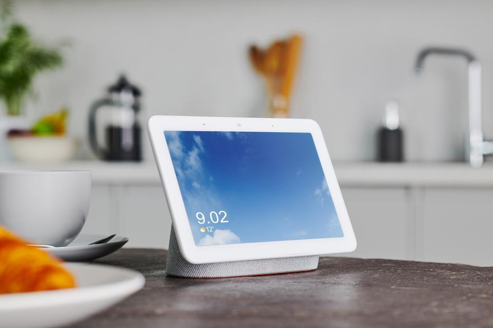 Google Home Hub Product Shoot