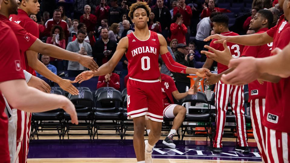 COLLEGE BASKETBALL: JAN 22 Indiana at Northwestern