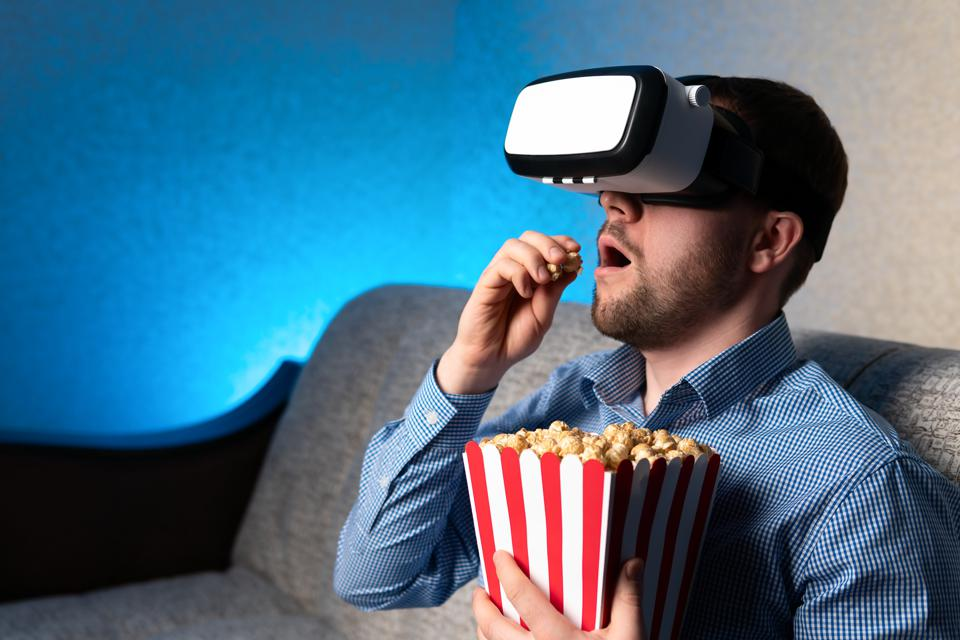 With movie theaters closed due to the pandemic, viewing movies at home with VR headsets bring the big screen experience to your home.