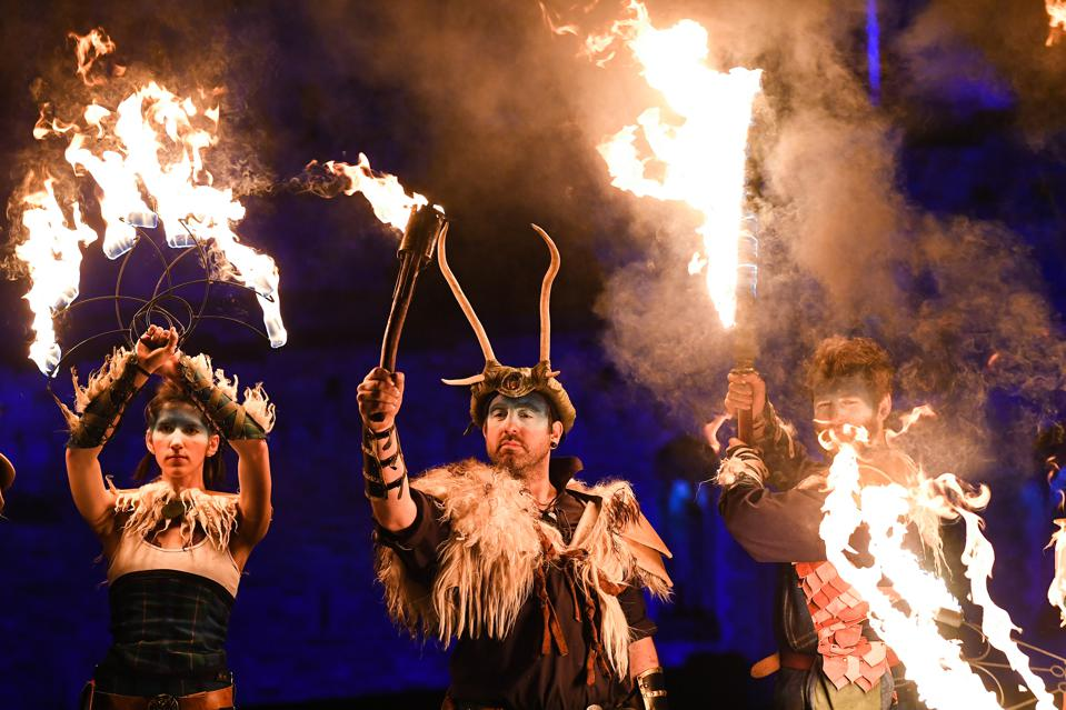 Check Out The World's Most Festive Holiday Celebrations, Including Pantos, Parang, And Hogmanay
