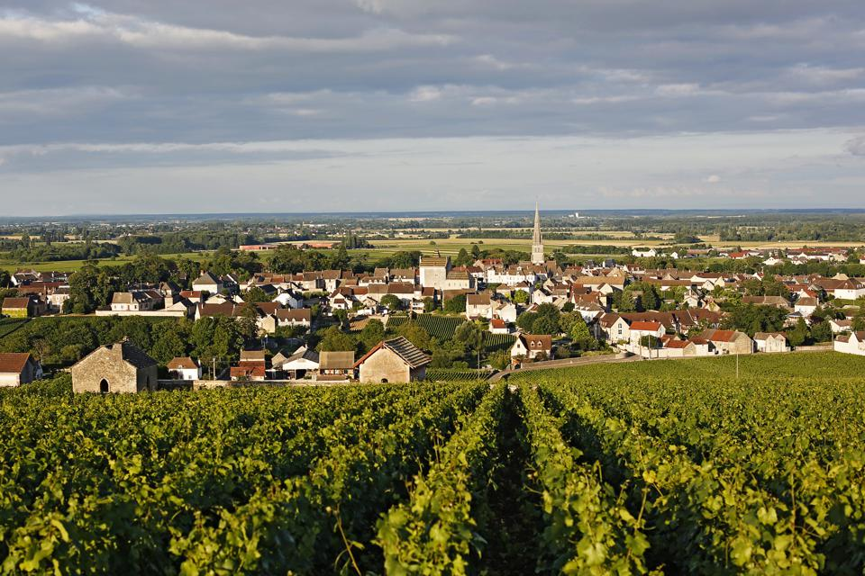 The Village of Meursault, The Great Burgundy Wine Road, Cote D'or - France