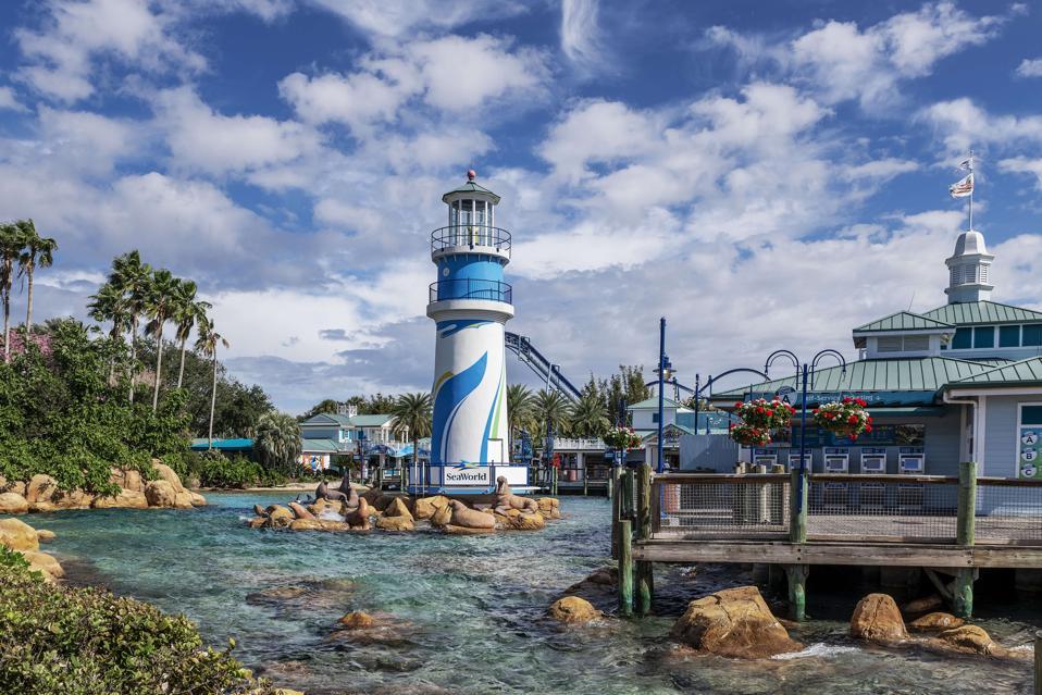 Seaworld marine park, Orlando Florida, USA...