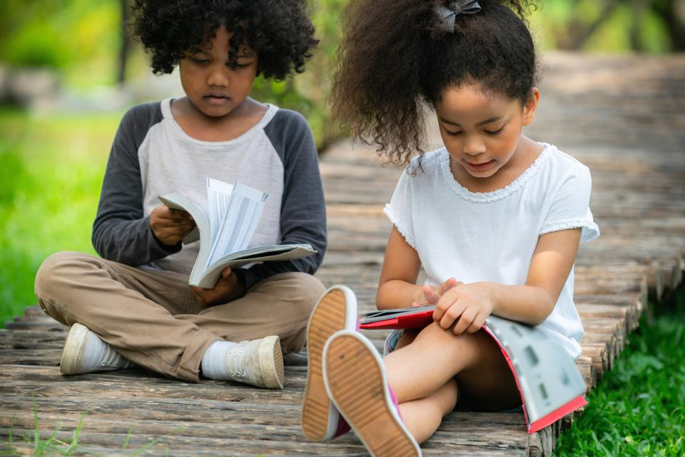 Children read an average of nine books across the summer of 2018, according to a new study.