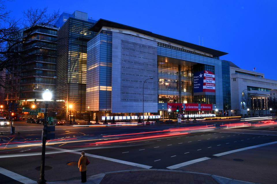 Newseum has been purchased by Johns Hopkins