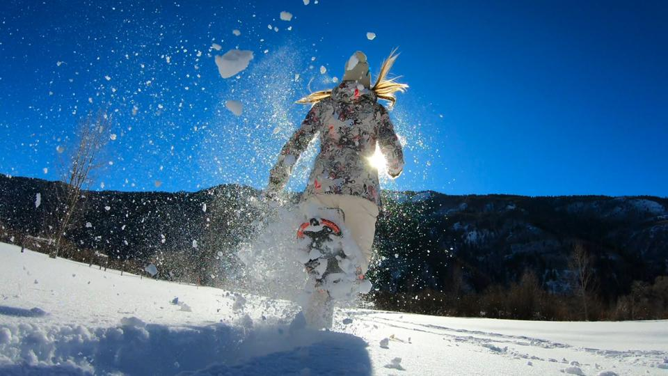 snowshoe, snowshoeing