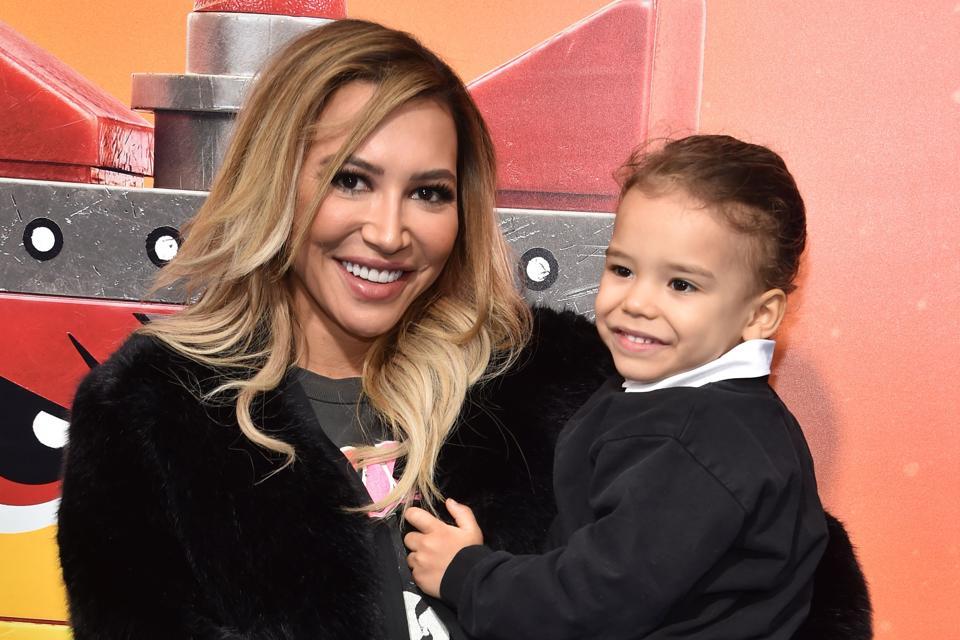 Naya Rivera and her son, Josey