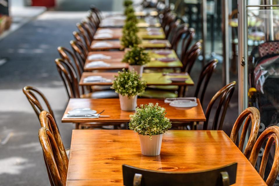 Lygon Street Restaurant Tables