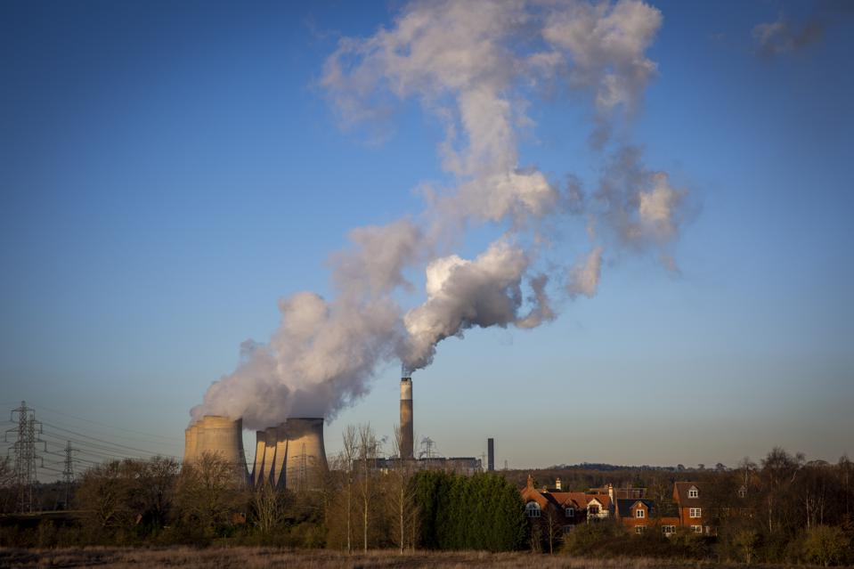 Good News And Bad News As Carbon Dioxide Emissions Grow More Slowly Than Models Predict