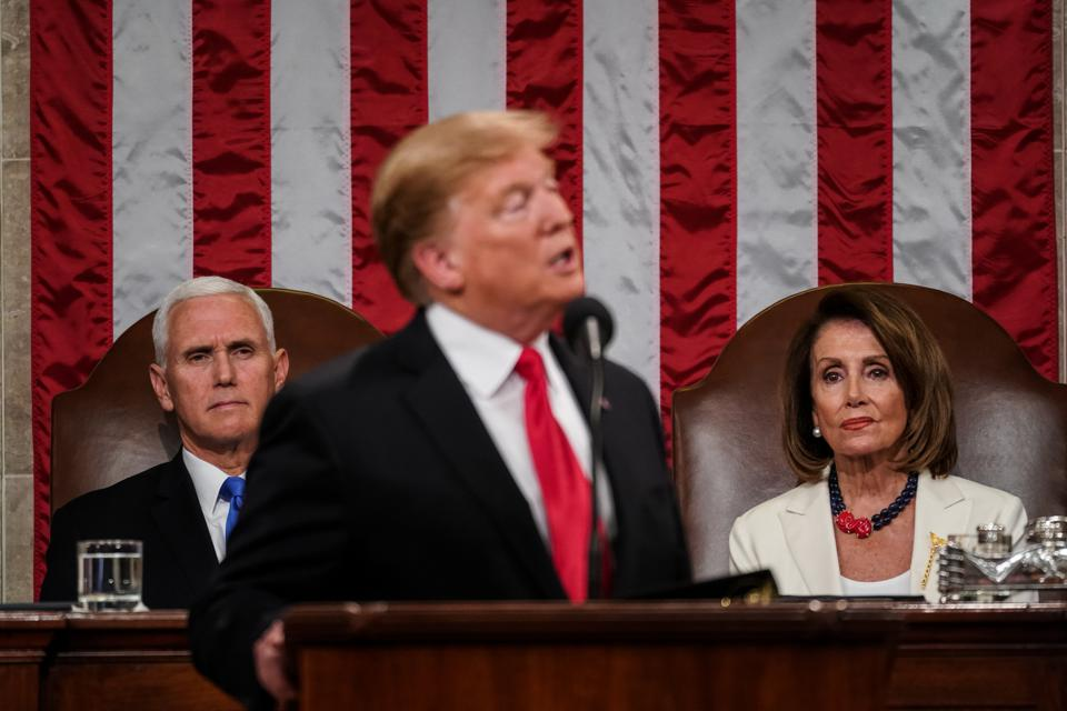 If Trump Is Removed From Office, Pence And Pelosi Are Next In Line