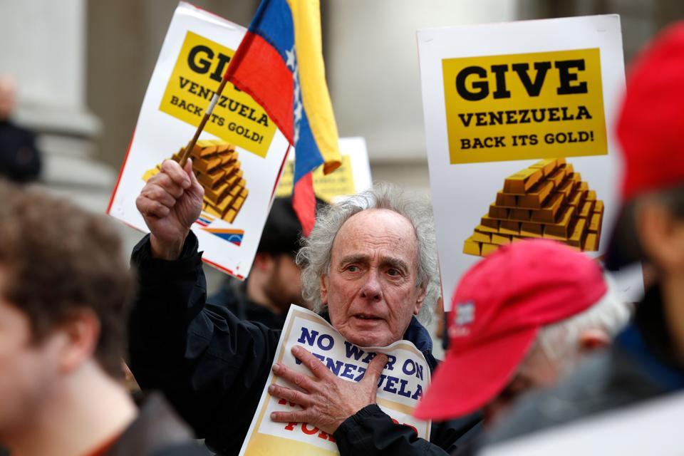 VENEZUELA-BOE-bank of england gold