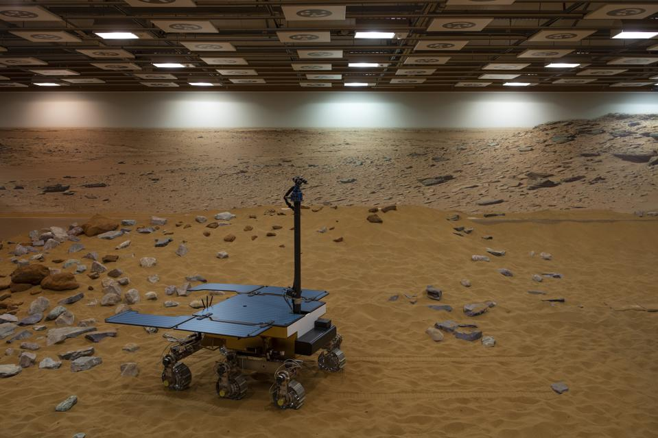 Naming Ceremony Of The European Space Agency's ExoMars Rover