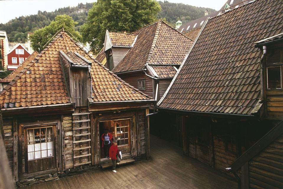 Houses of Hanseatic League, Bergen