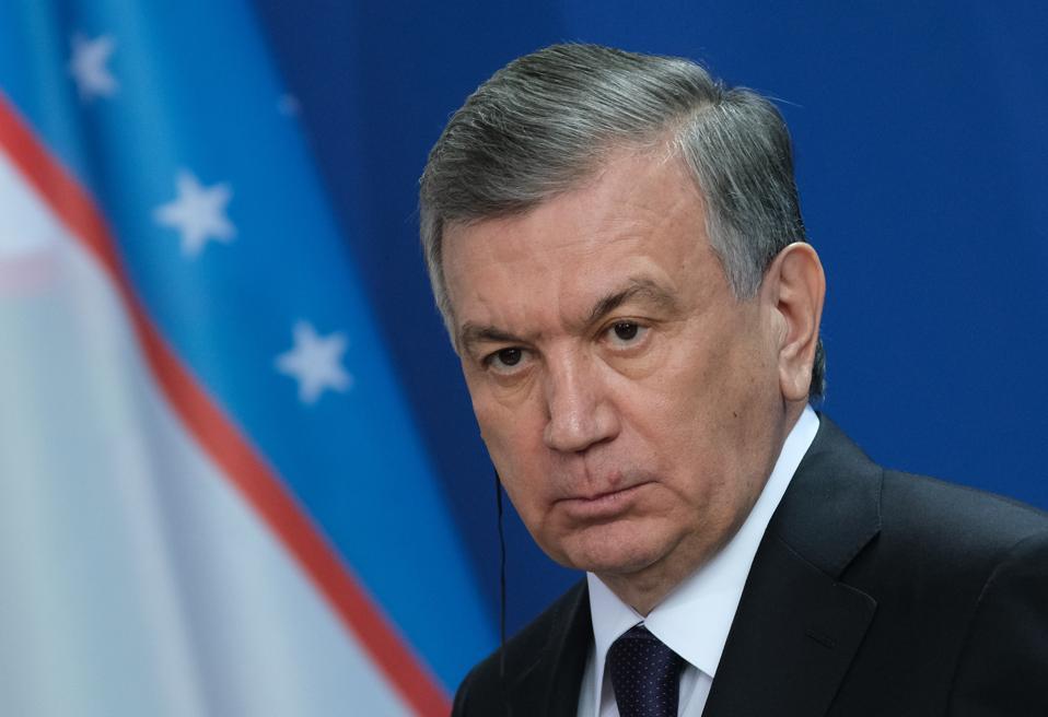 Uzbek President Shavkat Mirziyoyev Visits Berlin