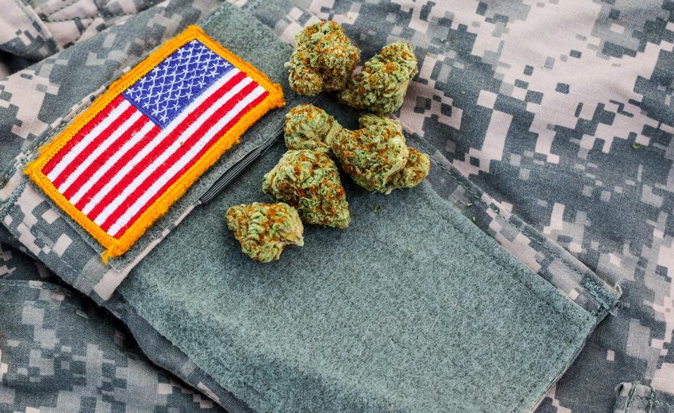 Marijuana on Military Uniform