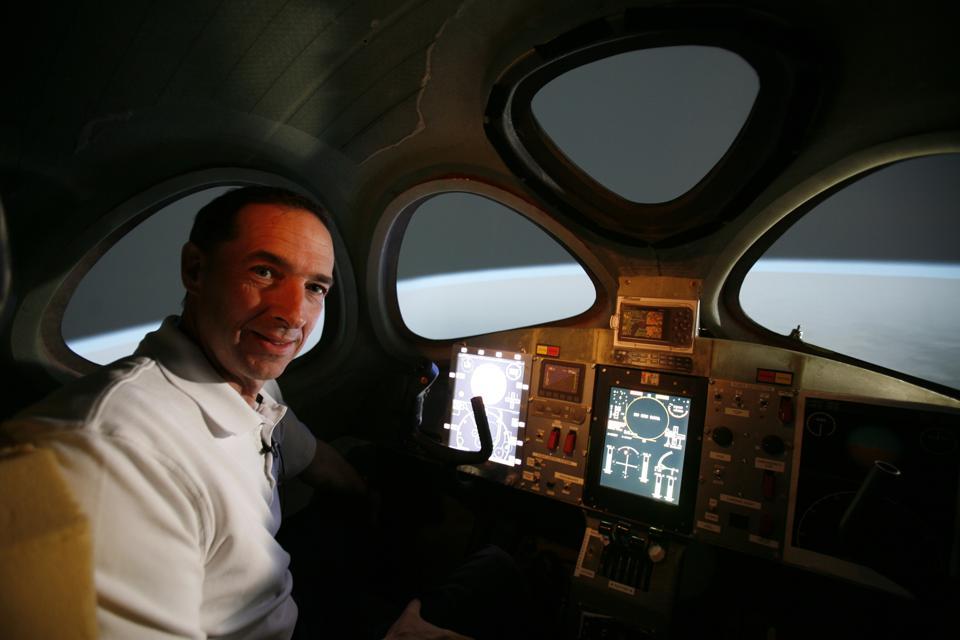 Virgin Galactic Flight Simulator in January 24th, 2008.