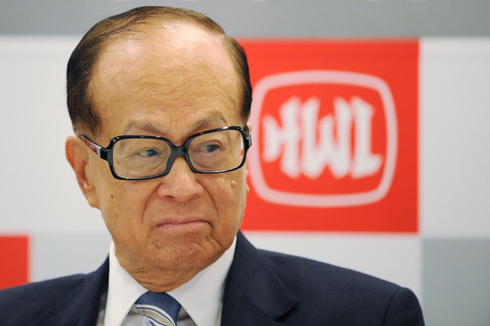 Hong Kong billionaire Li Ka-shing of Hut