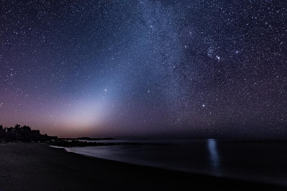 Zodiacal Light Over Tor Bay