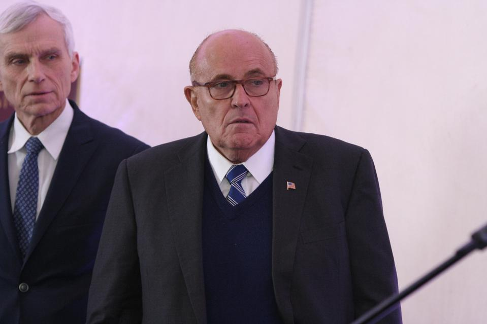 Giuliani, Trump's personal lawyer, has been working with Parnas and Furman since 2018 to get Ukrainian officials to launch two investigations.