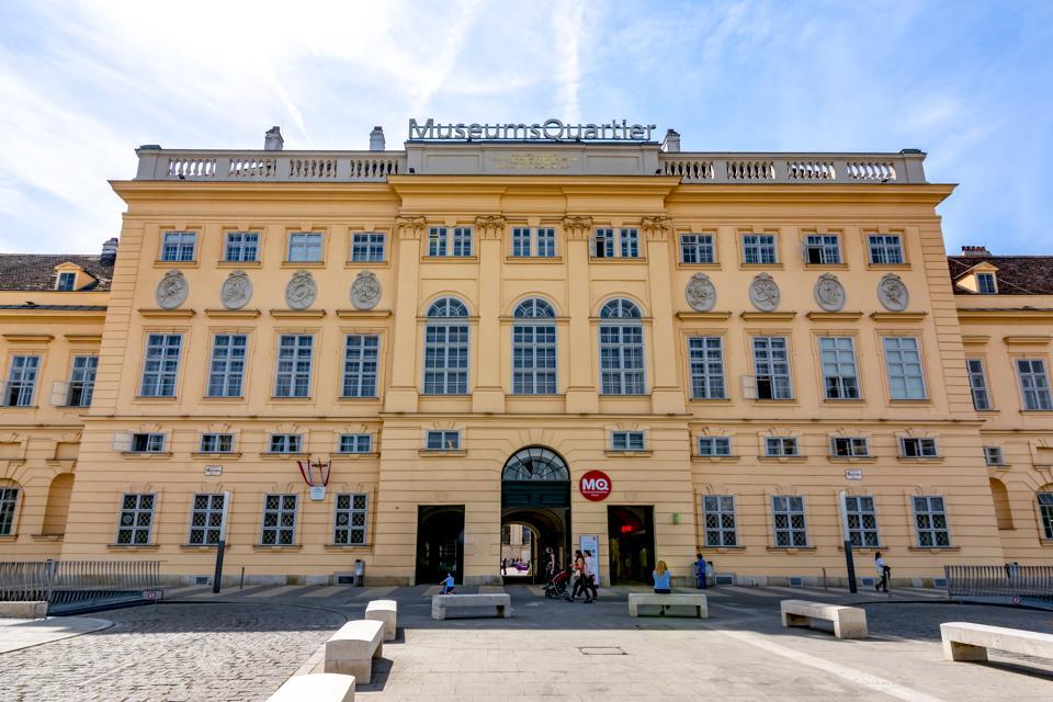 Museum quarter in Vienna, Austria
