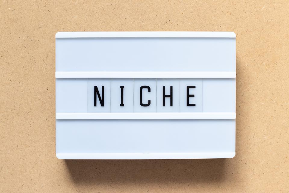 Niche opportunities are there if you look for it