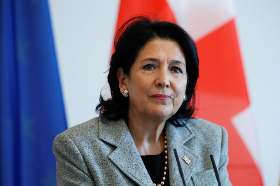 President of Georgia Salome Zurabishvili in Germany